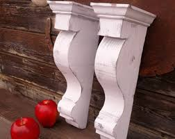 Unfinished Wood Corbels Corbels Etsy