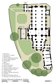 file christ church cathedral dublin plan park en svg wikimedia