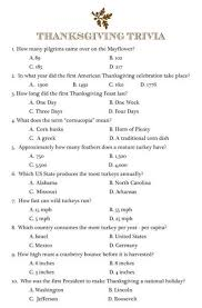 10 free printables for thanksgiving trivia and thanksgiving