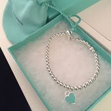 bead necklace tiffany images Tiffany co return to tiffany bead bracelet size small 6 5 inches jpg