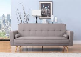 Click Clack Sofa Beds Uk by Birlea Ethan Sofa Bed Settee 3 Seater Click Clack Grey Fabric