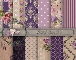 Shabby Chic Purple by Shabby Chic Lace Etsy