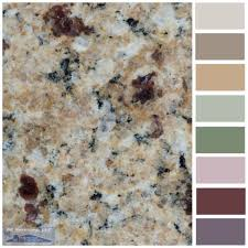 what color cabinets go with venetian gold granite ouro brazil granite painted kitchen cabinets colors