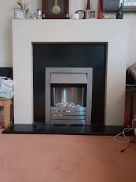 marble effect fireplace excellent condition in tunbridge wells