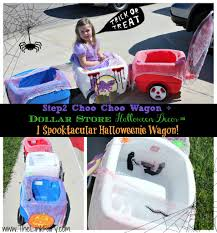 create a halloween chariot out of your step2 wagon