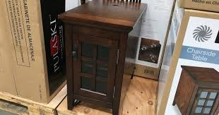 broyhill end table with usb broyhill chairside table costco weekender