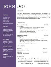 resume templates in word resumes and cover letters officecom 14