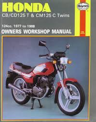 honda cb cd125t and cm125c twins 1977 88 owner u0027s workshop manual