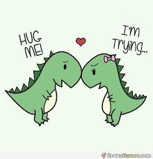 Funny Dinosaur Meme - funny cartoon dinosaurs in love