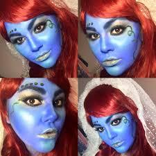 Alien Halloween Makeup by Avatar Alien Smurf Bride Halloween 2015 Makeup Tutorial Youtube