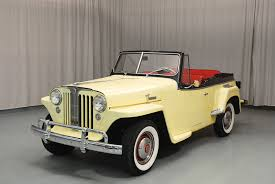 willys jeepster for sale 1949 willys jeepster convertible hyman ltd classic cars
