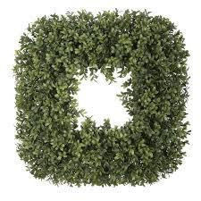 artificial boxwood wreath laurel foundry modern farmhouse 19 artificial boxwood wreath