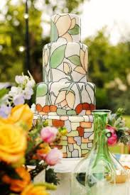30 creative and lovely hand painted wedding cakes weddingomania