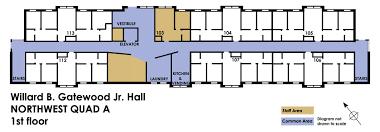 university housing campus communities northwest quad information