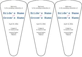 wedding program fan templates free wedding program templates paso evolist co