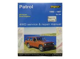 gregorys workshop manual for nissan patrol mq sd33 sd33t diesel