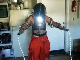 whiplash from iron man 2 halloween costume youtube