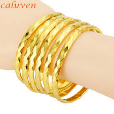 bangles bracelet images New design 8mm dubai eropean middle east bangles bracelets gold jpg