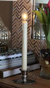 Window Candle Lights Traditional Ultra Bright Led Cordless Window Candle Dual Sided
