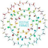 christmas lights vector set stock vector image 59637269