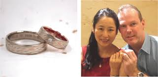 japanese wedding ring europe mokumeganeya vip wedding band and wedding ring with