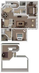 floor plans for large homes uptown village at townshend floor plans