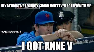 Security Guard Meme - tonight s mets meme cute security guard in mets dugout ain t gettin