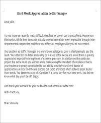 50 appreciation letter sles