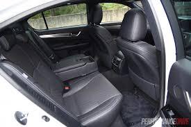 lexus gs 450h interior 2015 lexus gs 450h f sport review video performancedrive