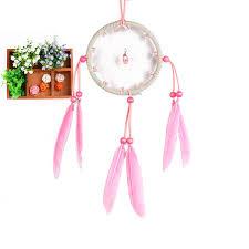 home decor handicrafts dreamcatcher canula pink crystal home decor handicrafts best