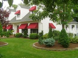 Outside Window Awnings Add Decors To Your Exterior With 20 Awning Ideas Home Design Lover