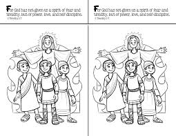 fcraft inside shadrach meshach and abednego coloring page