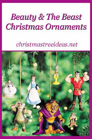 and the beast ornaments tree ideas net