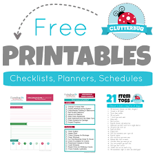 printables clutterbug me