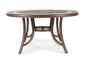 agio burgandy round stone top table mathis brothers furniture