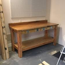 Tool Bench For Garage How To Build A Diy Workbench Super Simple 50 Bench Family Handyman