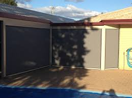 Track Guided Outdoor Blinds Outdoor Blinds Perth Action Awnings