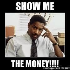 Show Me The Money Meme - show me the money denzel washington meme generator