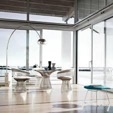 warren platner dining table knoll modern furniture palette