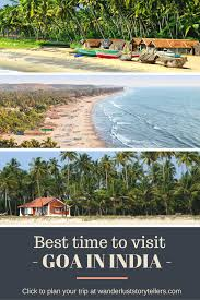 best time to visit goa india best season month