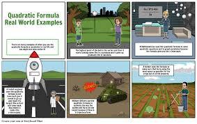 quadratic formula real world examples