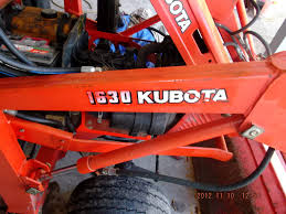kubota 1630 loader attachment