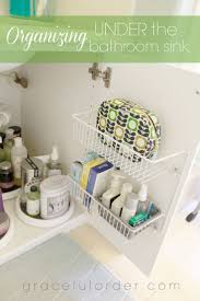 organize bathroom sink befitz decoration
