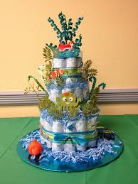 diaper cake themed after