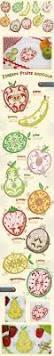 Kitchen Embroidery Designs 40 Best Fruit Applique Images On Pinterest Fruit Sconces And
