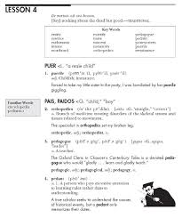 vocab study guide biology vocabulary from classical roots