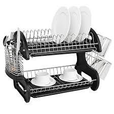 Bed Bath And Beyond Atlanta Dish Racks U0026 Drainers Stainless Steel Dish Racks Bed Bath U0026 Beyond