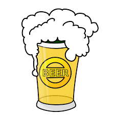 cartoon beer pint a pint clipart clipground