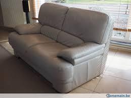 vendre canapé à vendre canapé en cuir 2 places a vendre 2ememain be