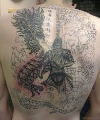77 graceful dragon tattoos for back
